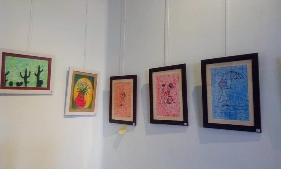 Painting exhibition of Ummil Kuls