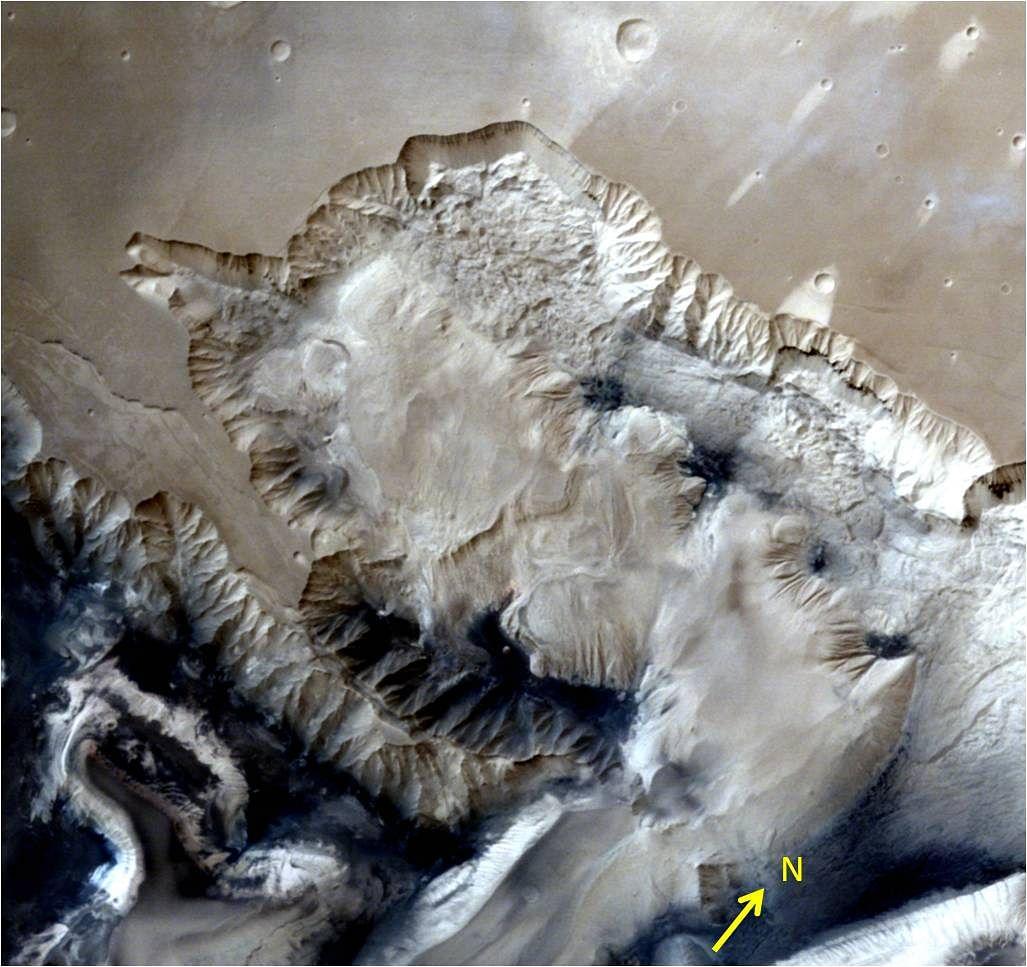 Picture of Mars taken by ISRO's Mars Orbit Mission
