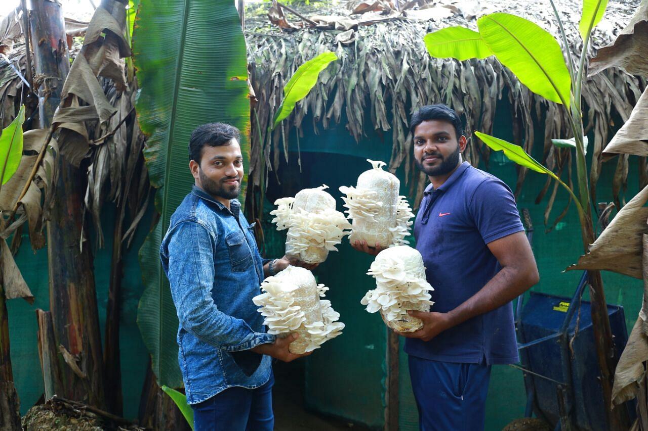 Kerala mushroom farmers