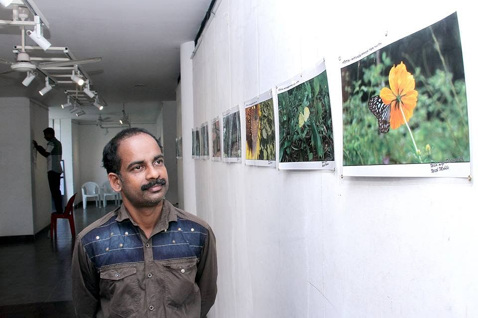 Mobile photo exhibition Gireesh Marengalath