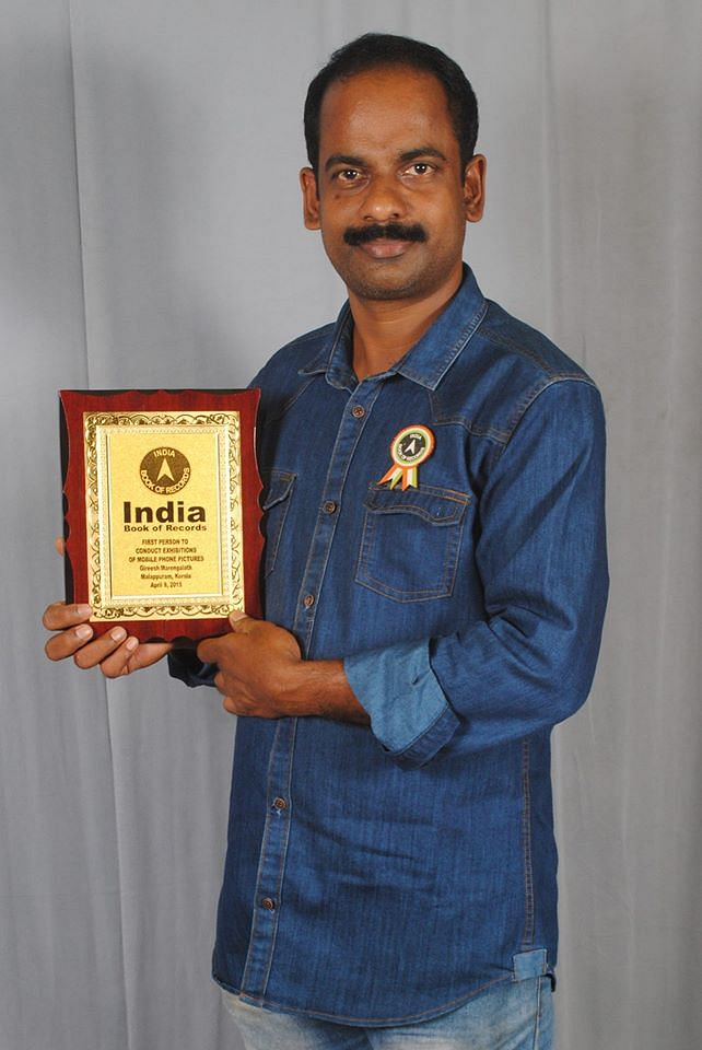 Girish Marengalath: An travel enthusiast and photographer, he entered Limca Book of World Records for mobile photography