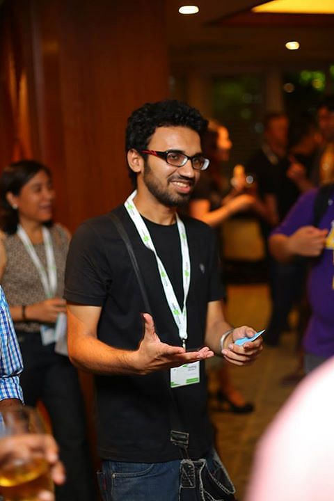Zainuddin Fahad, co-founder of Ogre Head Studio, which came up with Asura computer game