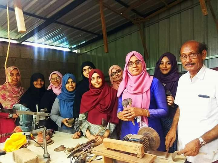 This all-woman group is producing eco-friendly products using coconut shells