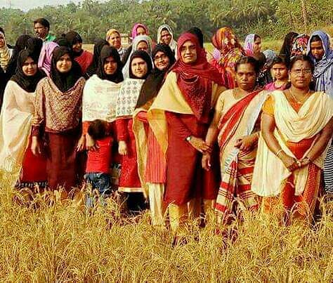 Members of Penmitra, a Malappuram based all-woman farmers group