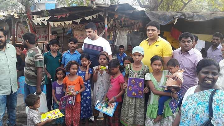 The experience in Mumbai slum was a life changer for Georgy