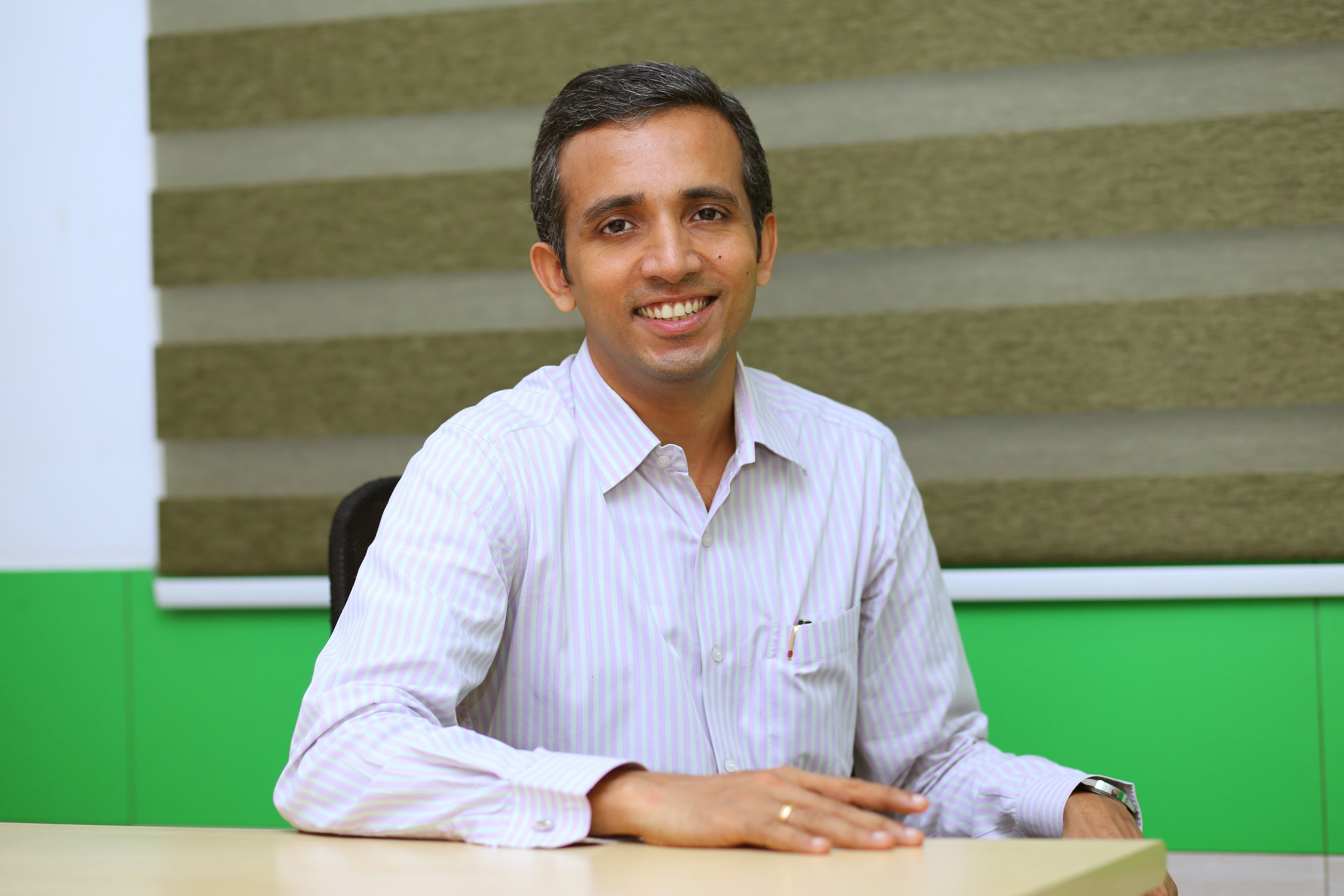 Sandith Thandassery, the maker of India's first solar boat in operation