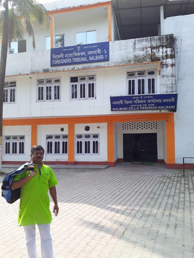 Dileep Das traveled to Assam to help NRC victim