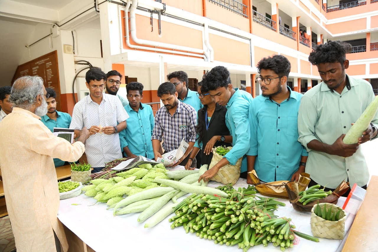 Organic farming is another reason for students to like this college more