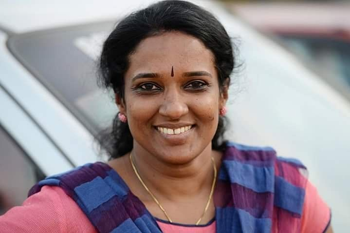 Lekha S Kumar, founder of Handicrops